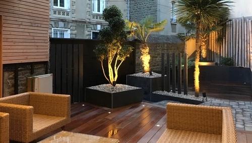 Aménagement d''un jardin de ville