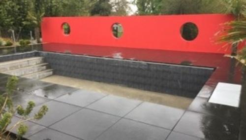 Aménagement paysager autour d''une piscine - 22