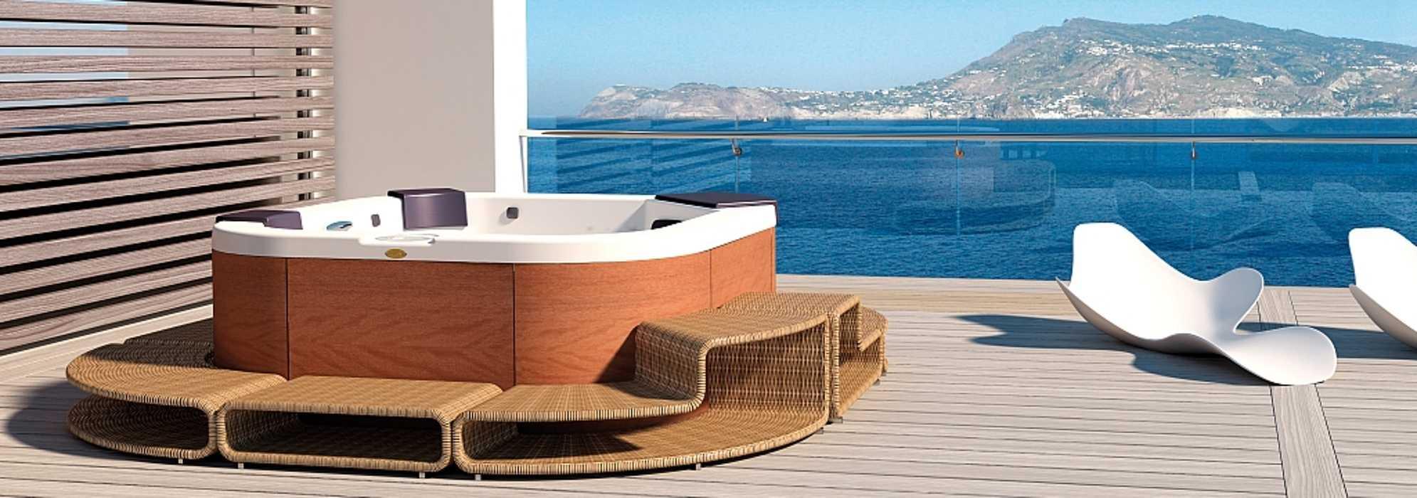 Jacuzzi® Delfi Pro Sound : spa 4 places 0