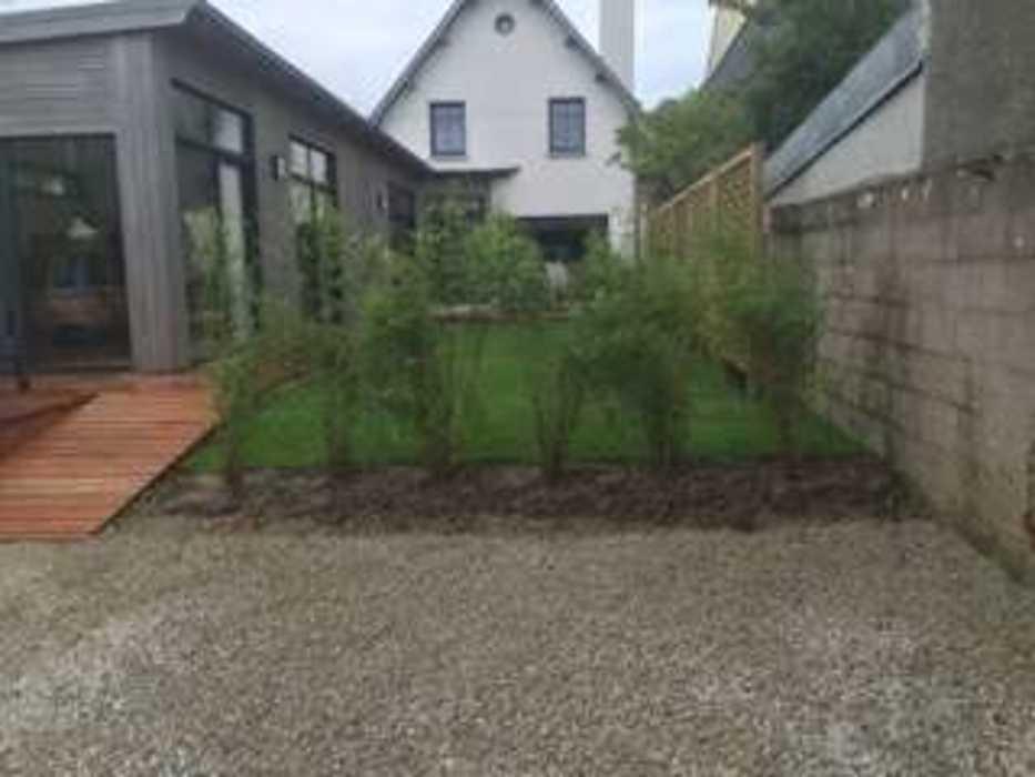 Installation d''une clôture et d''un espace végétalisé - (22) img1079