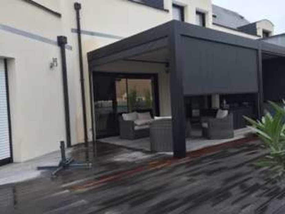 Aménagement d''espaces détente sur terrasse - (72) 1