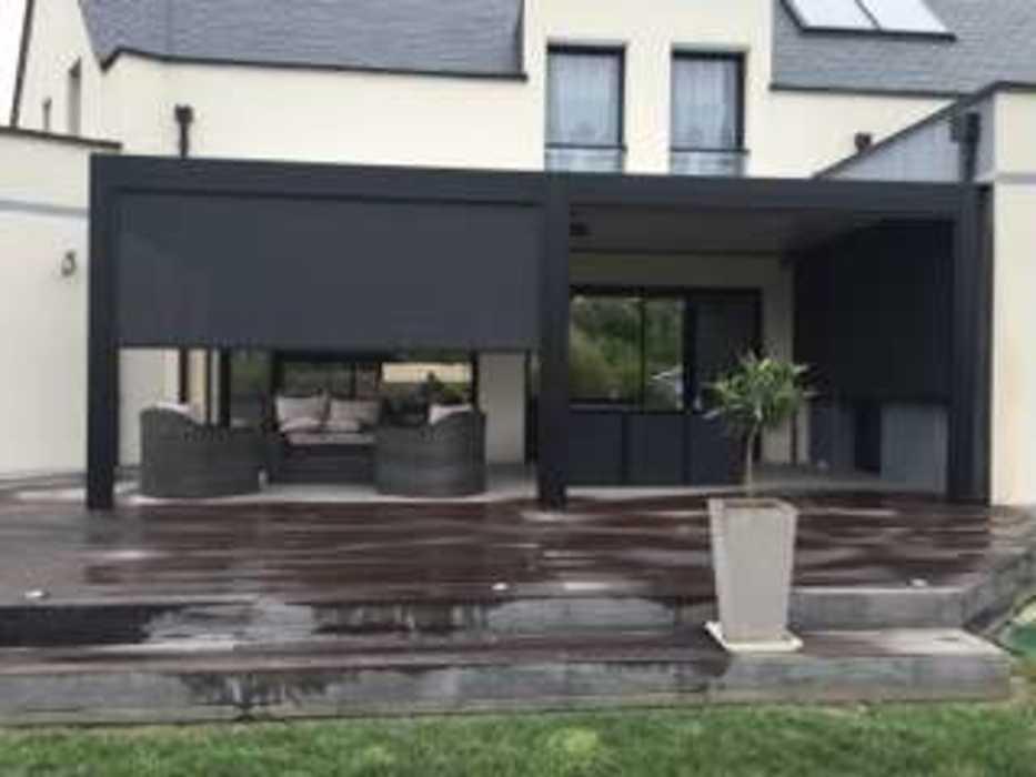 Aménagement d''espaces détente sur terrasse - (72) 2