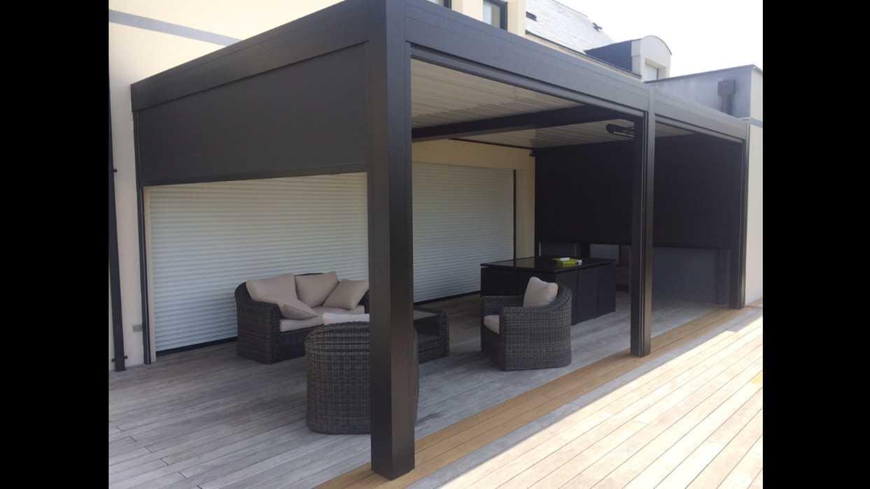 Aménagement d''espaces détente sur terrasse - (72) 3