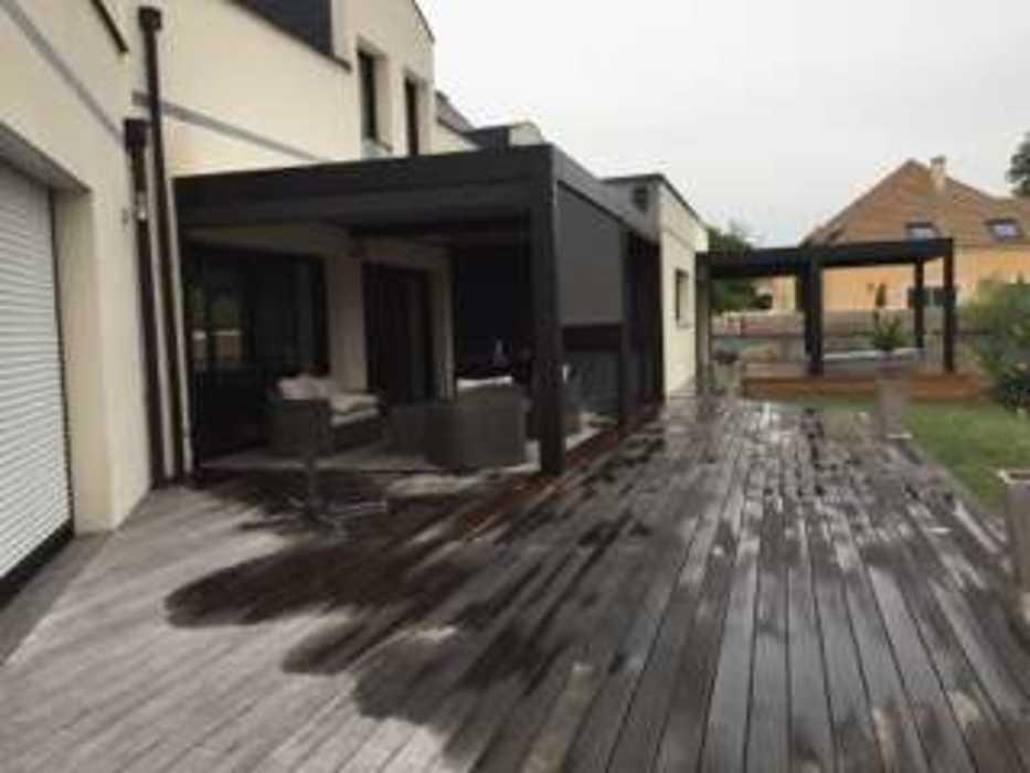 Aménagement d''espaces détente sur terrasse - (72) 4