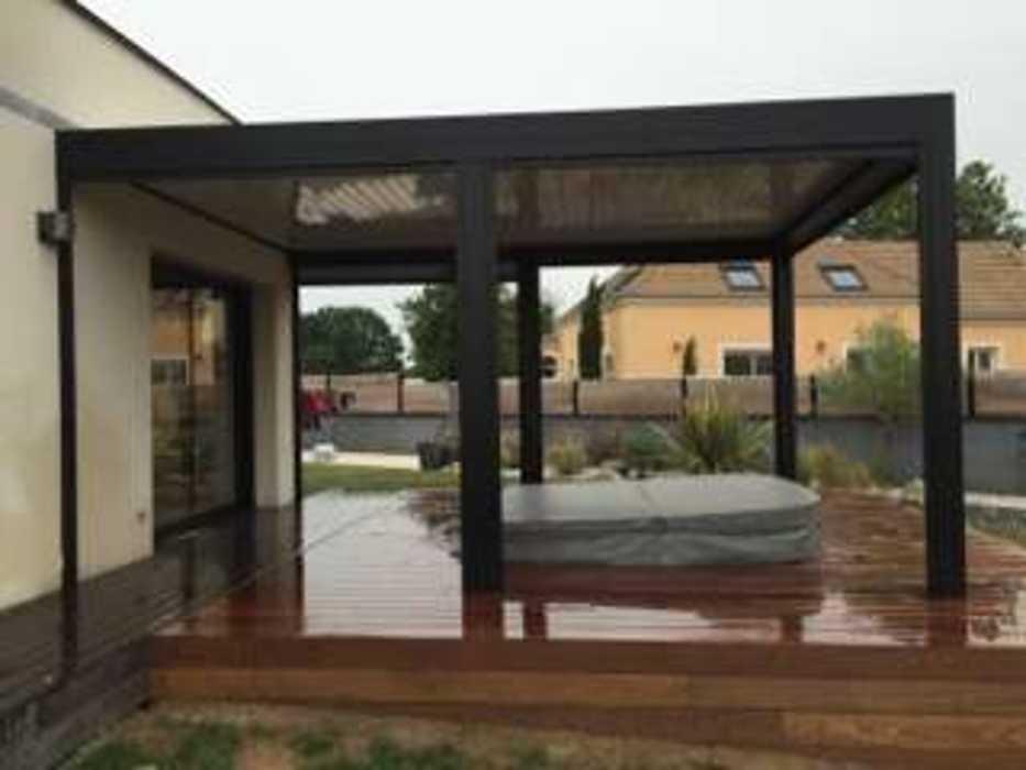 Aménagement d''espaces détente sur terrasse - (72) 5