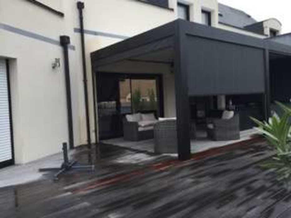 Aménagement d''espaces détente sur terrasse - (72) 6