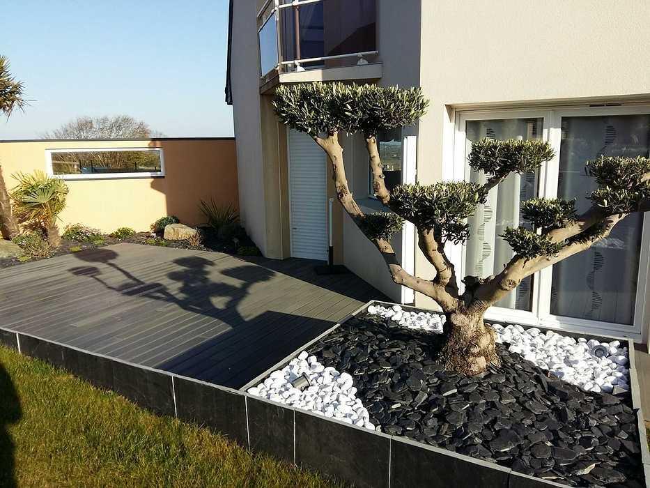Aménagement d''une terrasse - (22) 2